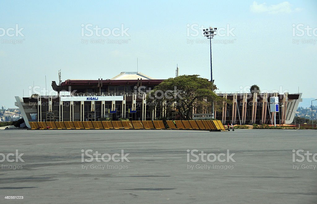 Kigali International Airport, Rwanda stock photo