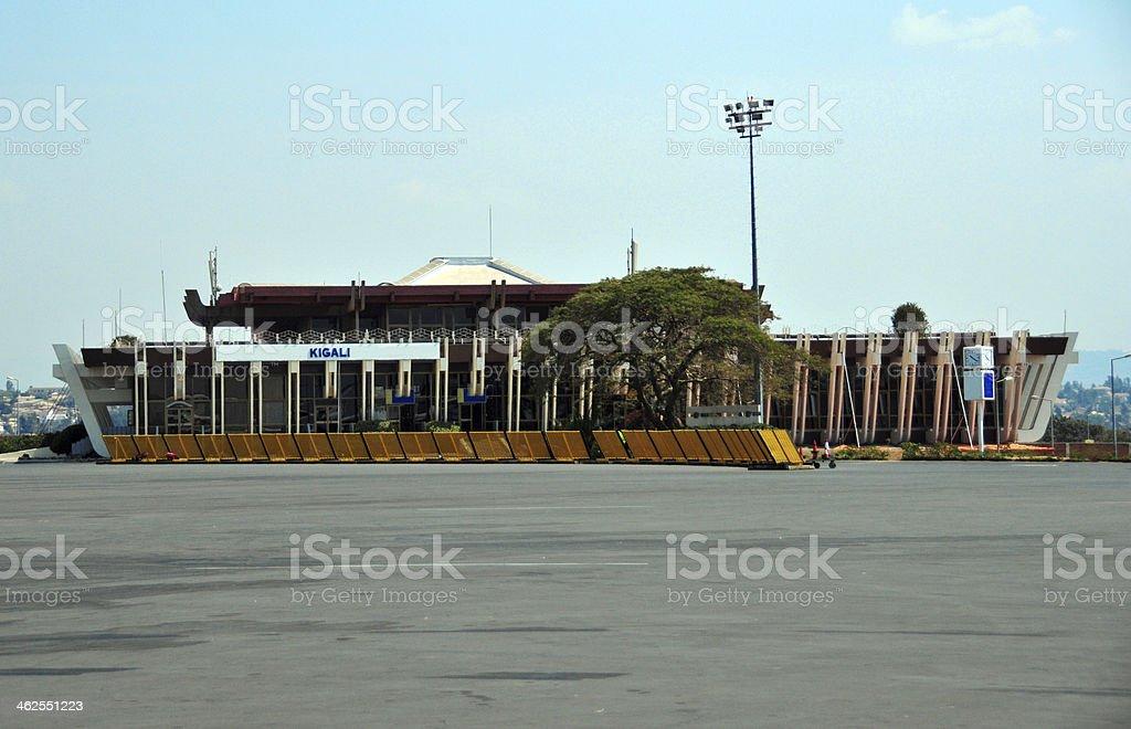 Kigali International Airport, Rwanda stock photo