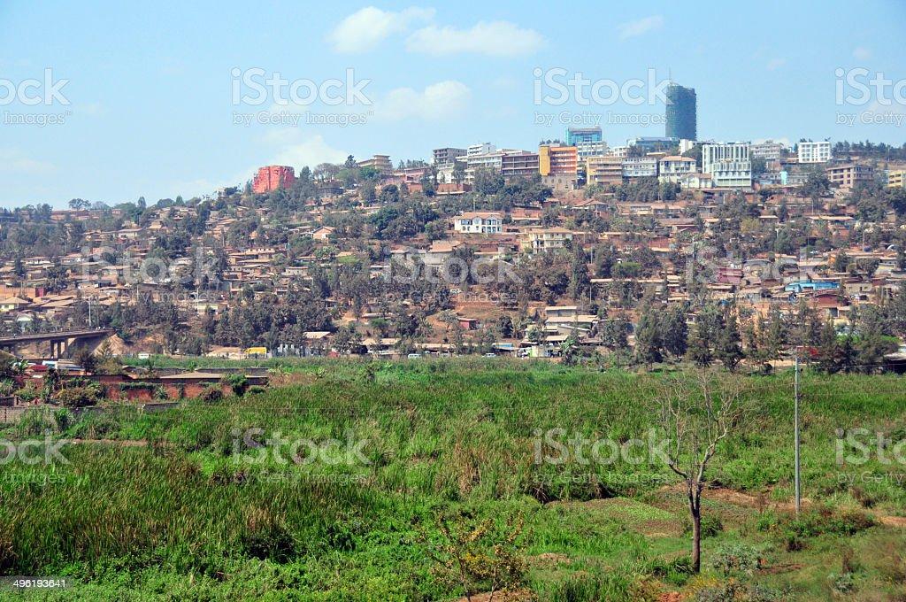 Kigali, Rwanda: skyline stock photo