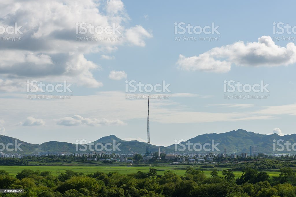 Kijong-dong stock photo