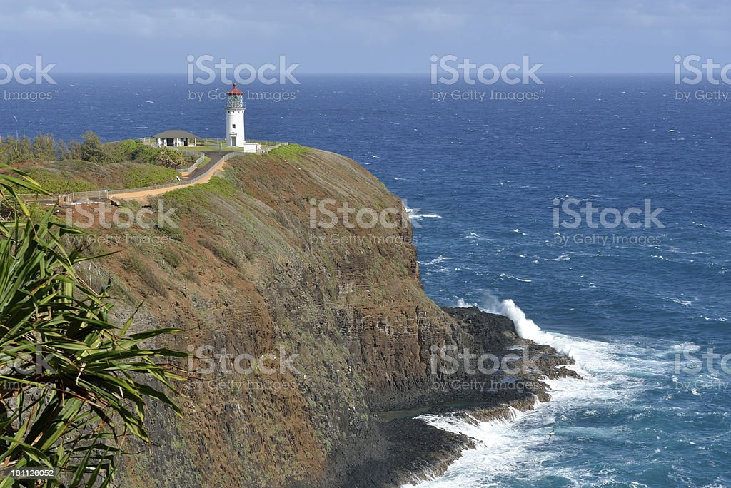 Kilauea Lighthouse on Kauai, Hawaii, USA - XXXL stock photo