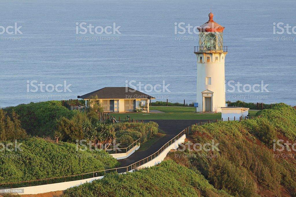 Kilauea lighthouse royalty-free stock photo