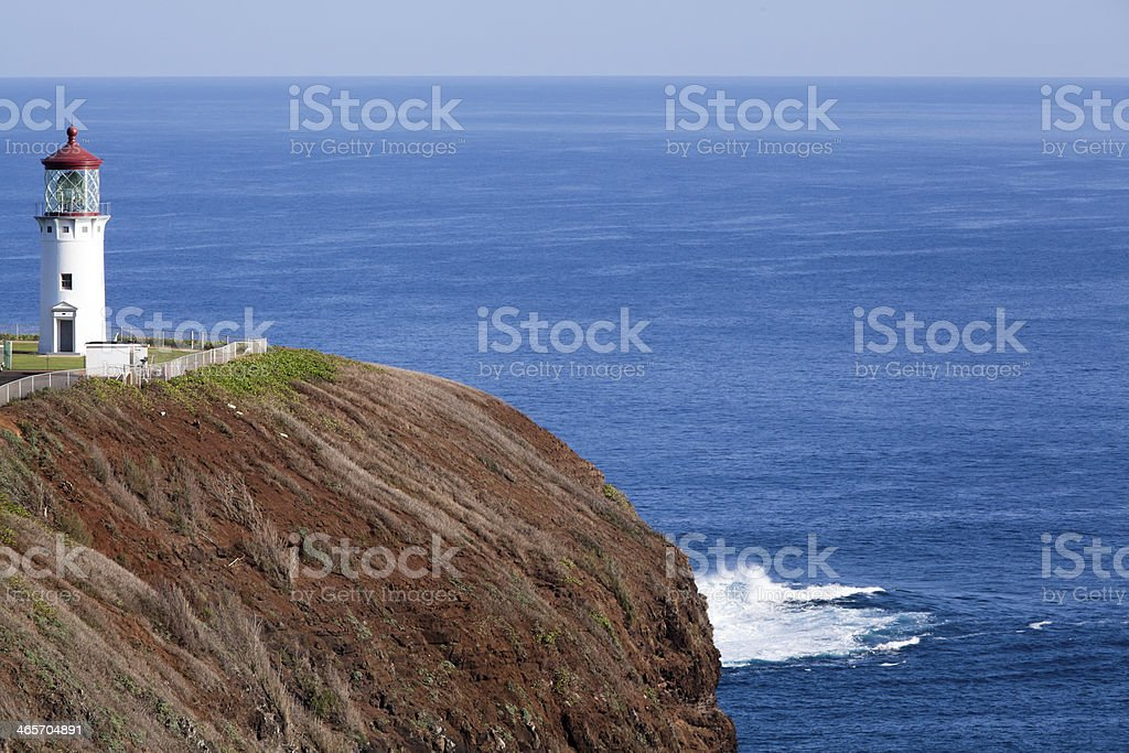 Kilauea Point Lighthouse stock photo