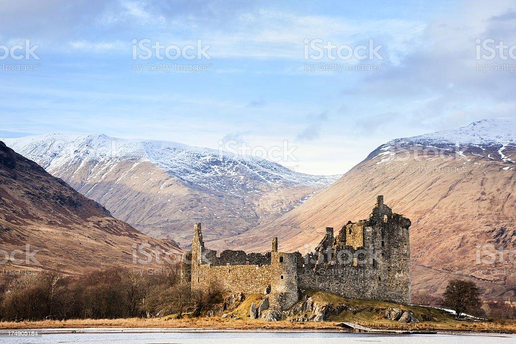 Kilchurn Castle, Loch Awe royalty-free stock photo