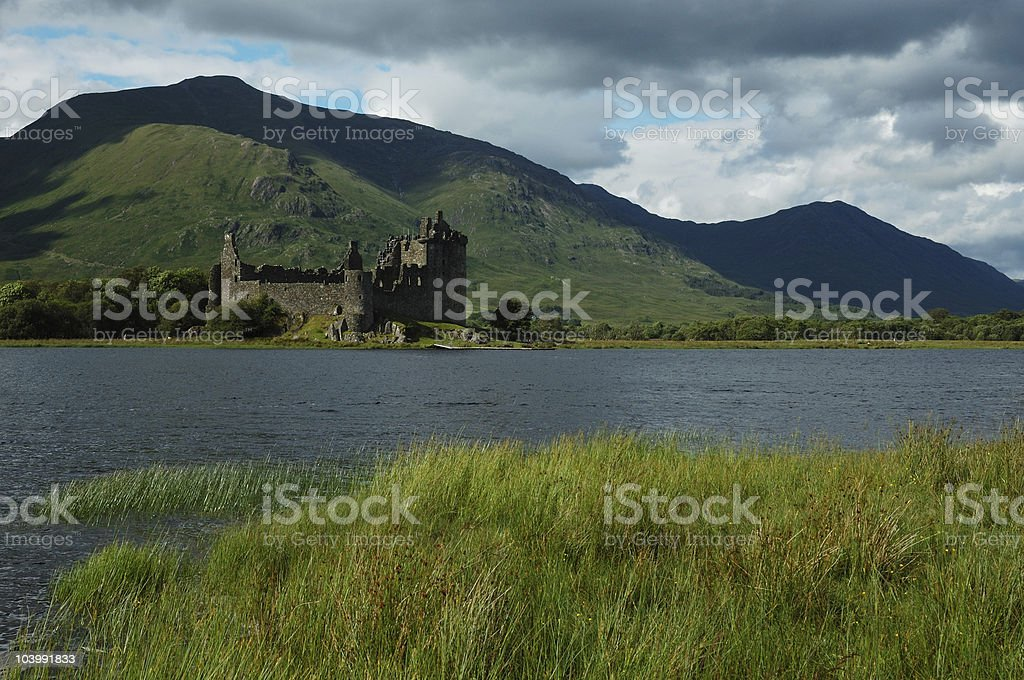 Kilchurn Castle stock photo