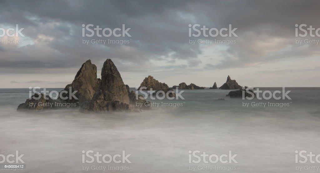 Kilfrassey Bay stock photo