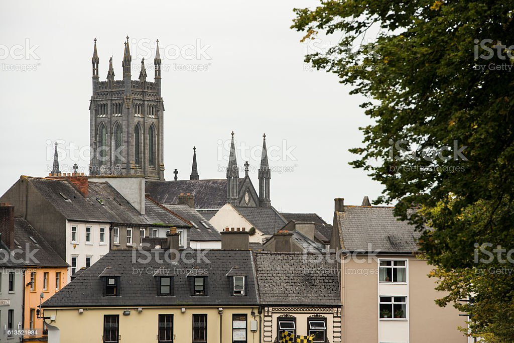 Kilkenny village stock photo