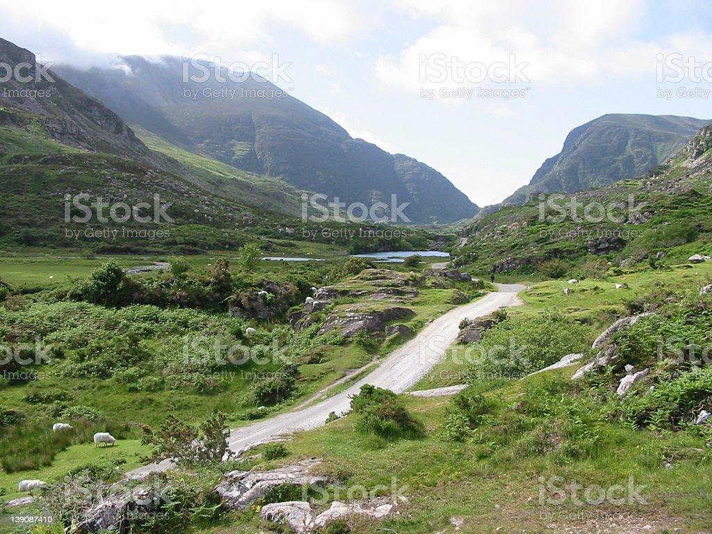 Killarney Mountains and Valley royalty-free stock photo