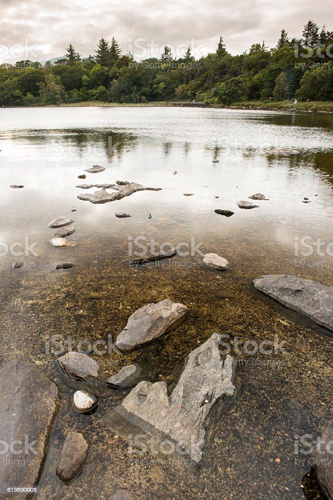 Killarney National Park lake stock photo