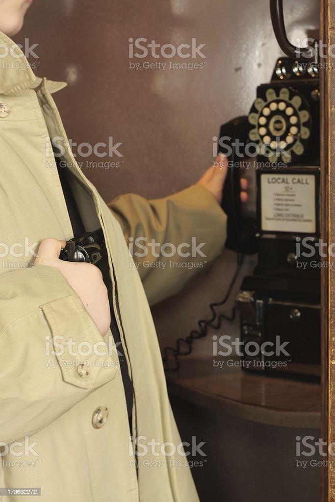 Killer Phone Call royalty-free stock photo