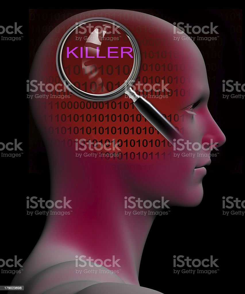 Killer royalty-free stock photo