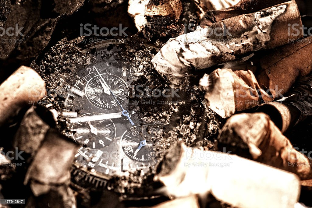 Killing The Time stock photo