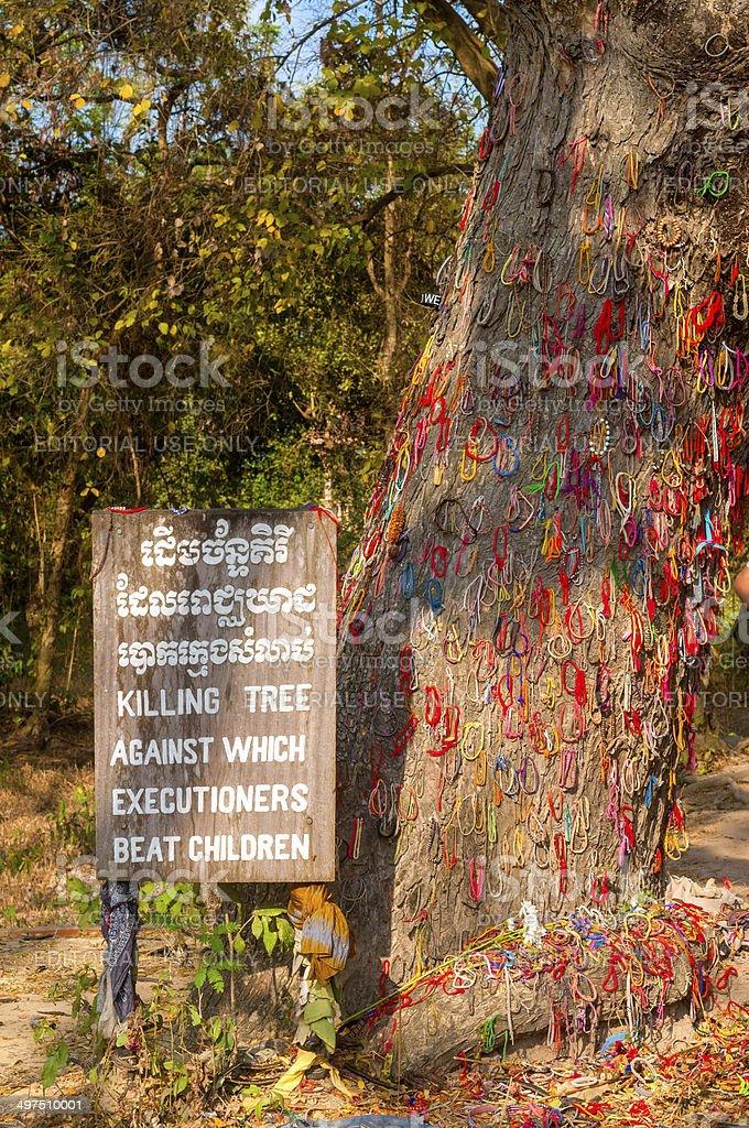 Killing Tree stock photo
