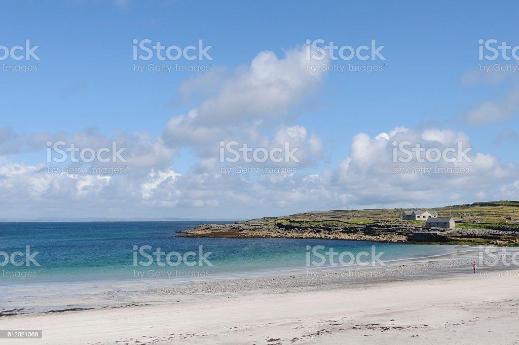 Kilmurvey Beach, Inishmore, Aran Island, Ireland, Europe stock photo