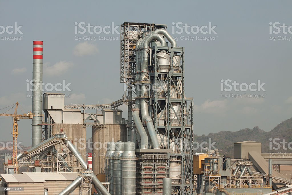Kiln section stock photo