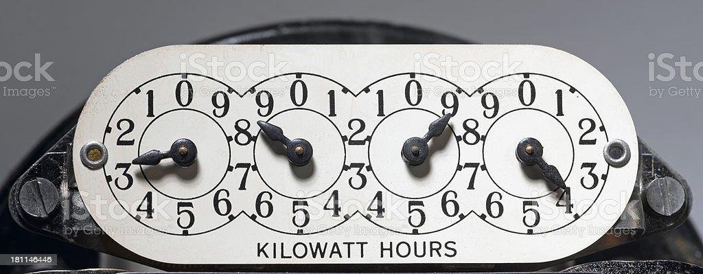 Kilowatt stock photo