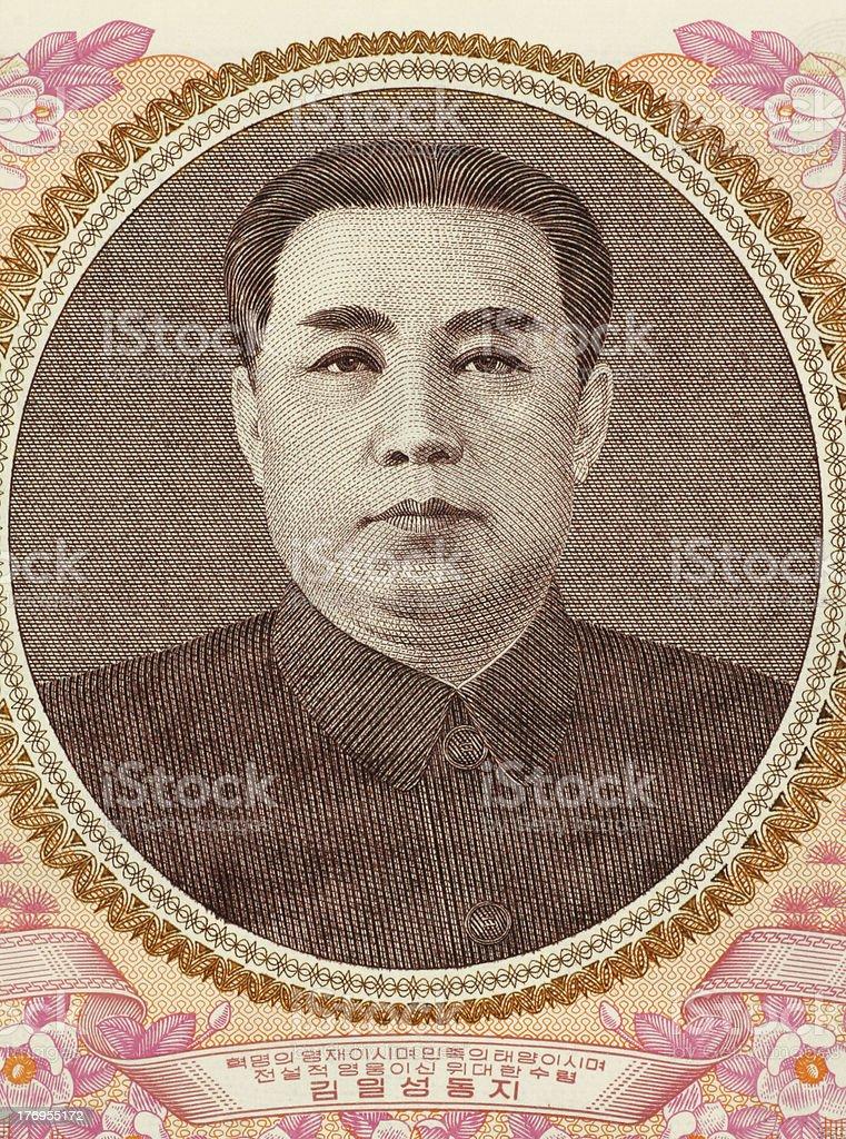 Kim II Sung royalty-free stock photo