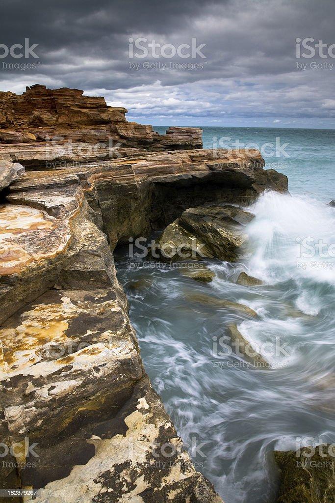 Kimberley Coast royalty-free stock photo