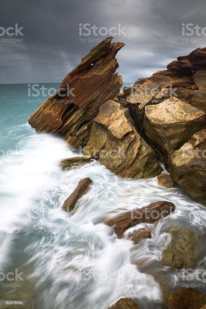 Kimberley Coast royalty-free stock photo