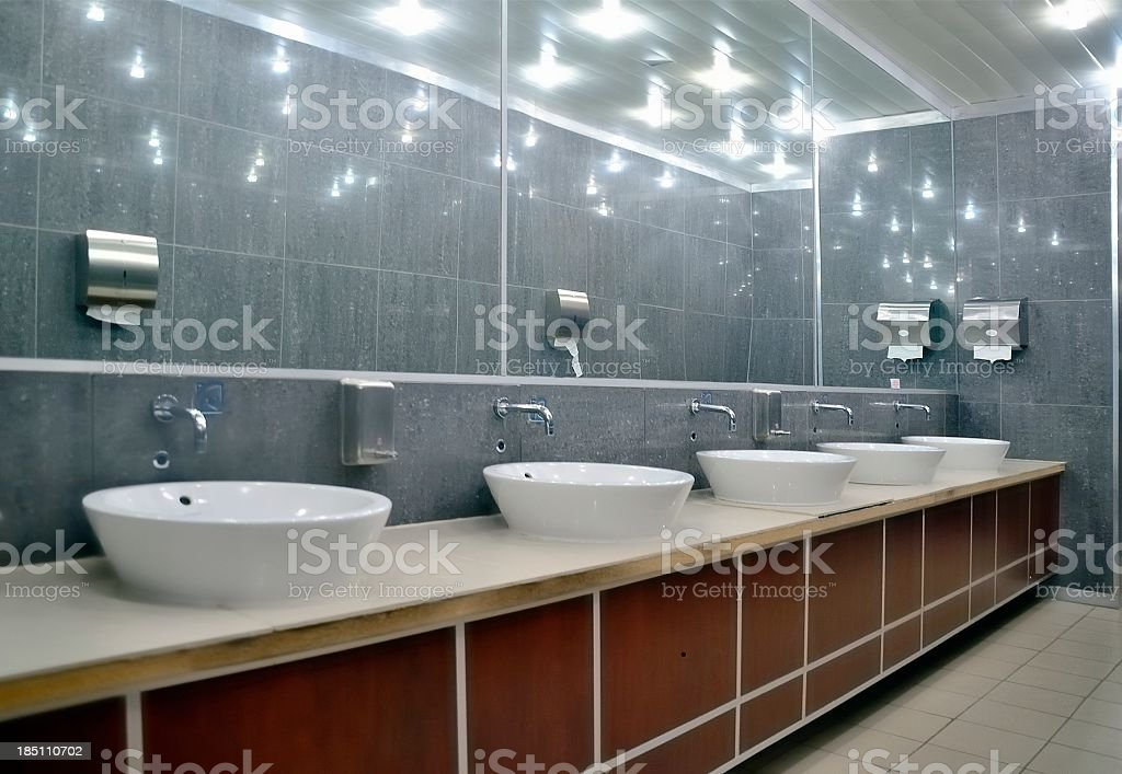 Kimberley Mens Room stock photo