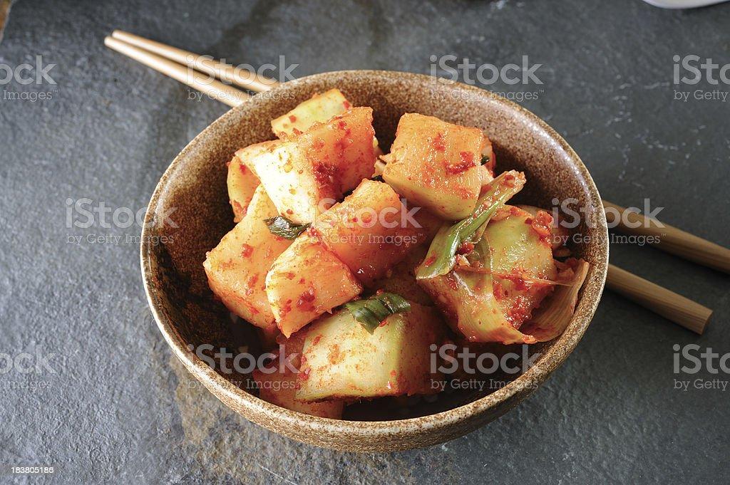 Kimchi royalty-free stock photo