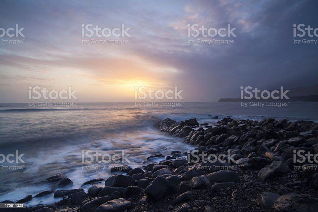 Kimmeridge Bay, Dorset, UK royalty-free stock photo