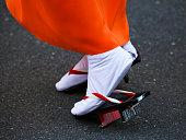 Kimono, Tabi Socks and Geta Sandals