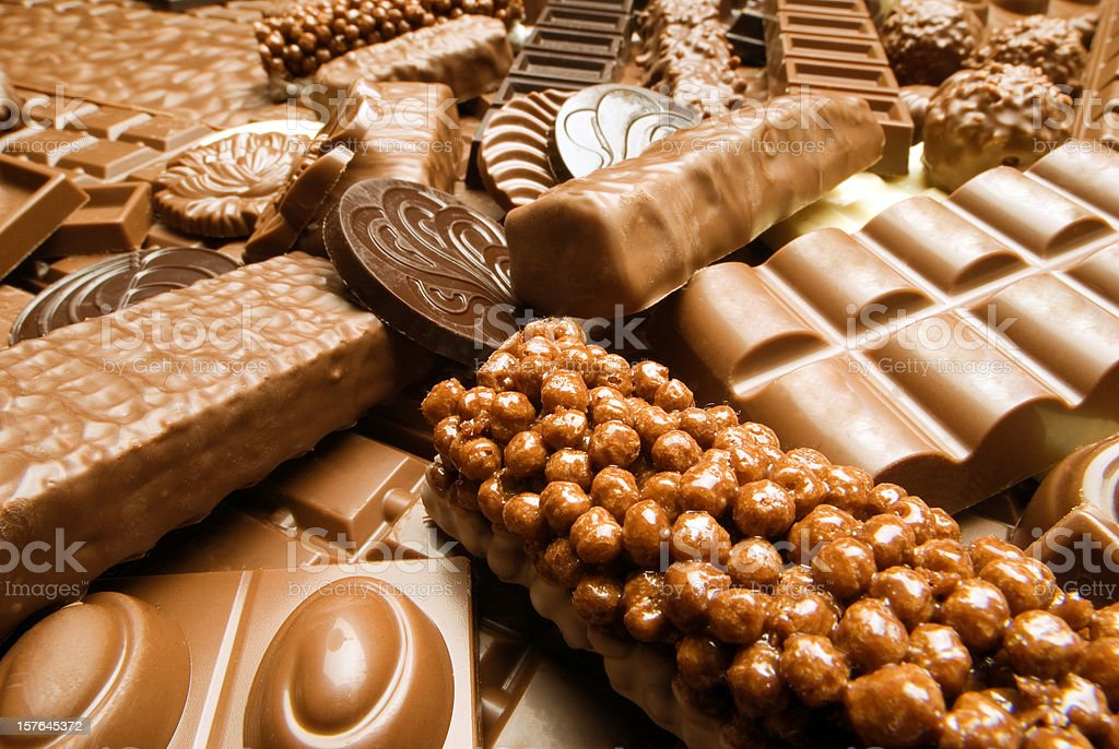 Kind of chocolate royalty-free stock photo