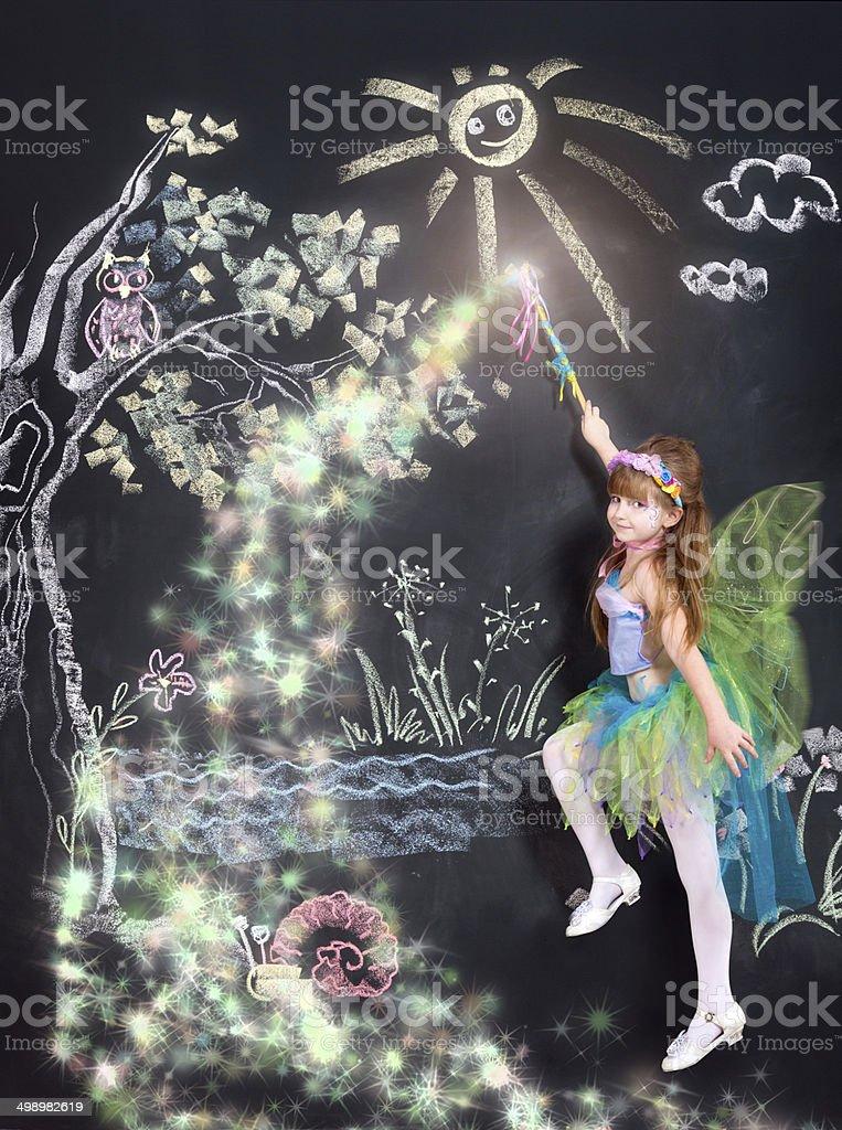 Kind of magic stock photo
