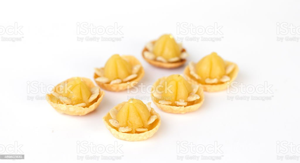 kind of Thai sweetmeat - Stock Image stock photo