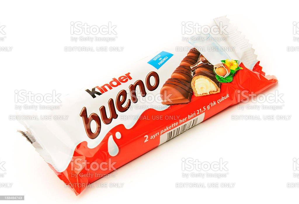Kinder Bueno stock photo