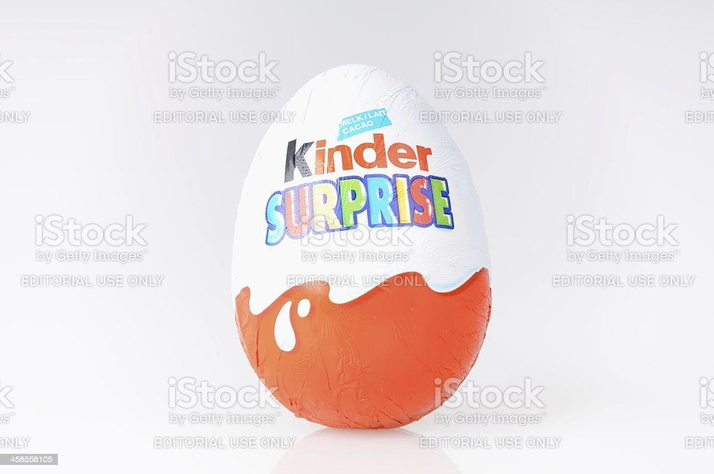 Kinder Surprise stock photo