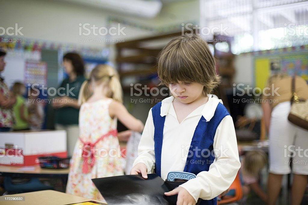 Kindergarten activities royalty-free stock photo