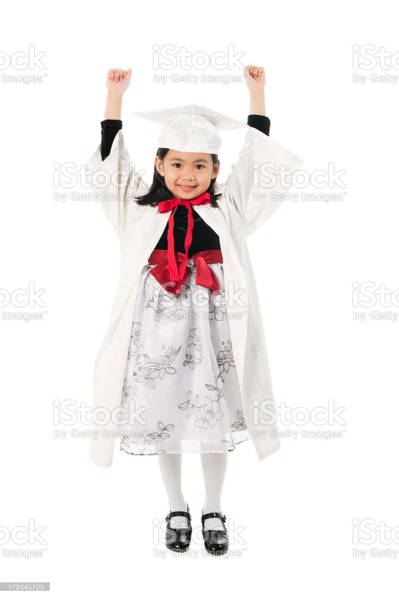 Kindergarten Graduate. royalty-free stock photo