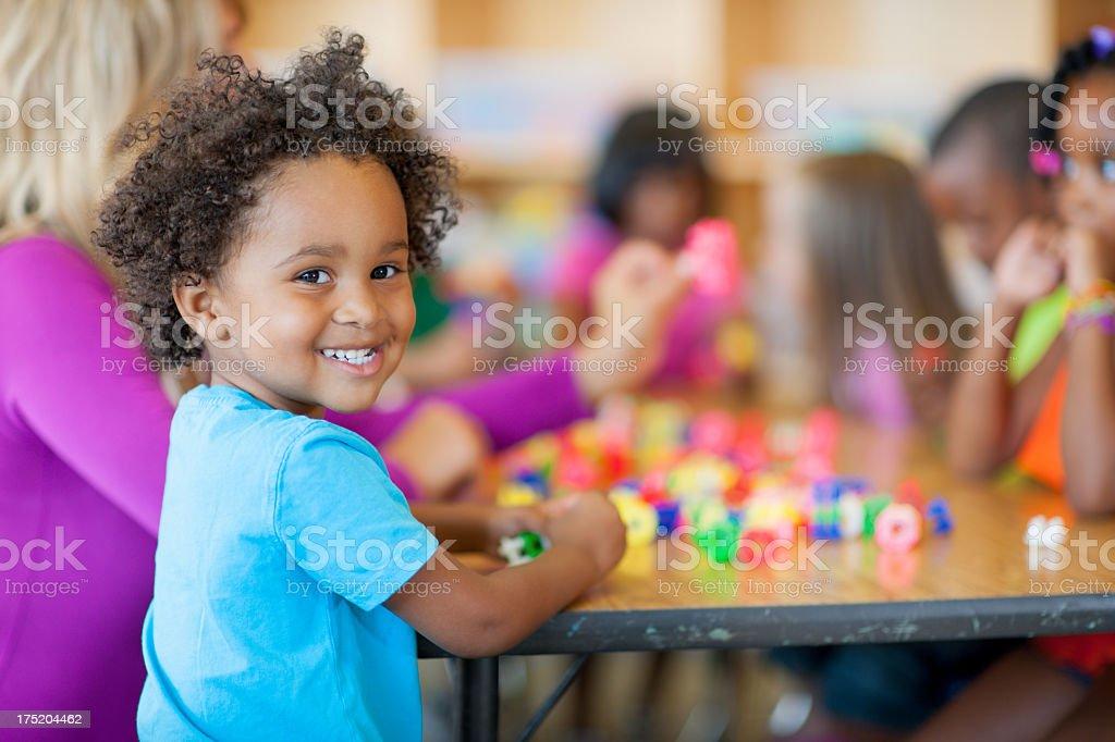 Kindergarten royalty-free stock photo
