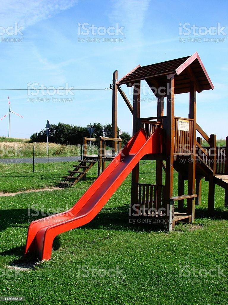 Kinderspielplatz stock photo