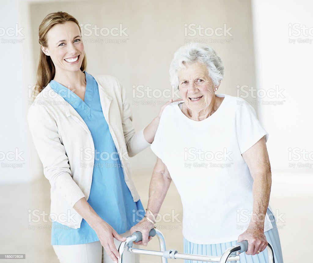 Kindness is showing someone you care royalty-free stock photo