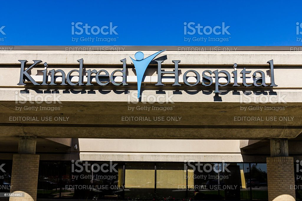 Kindred Hospital, a division of Kindred Healthcare Incorporated II photo libre de droits