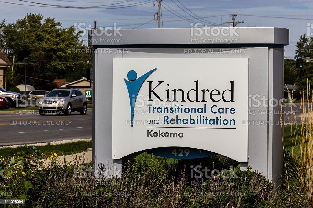 Kindred Transitional Care and Rehabilitation IV stock photo