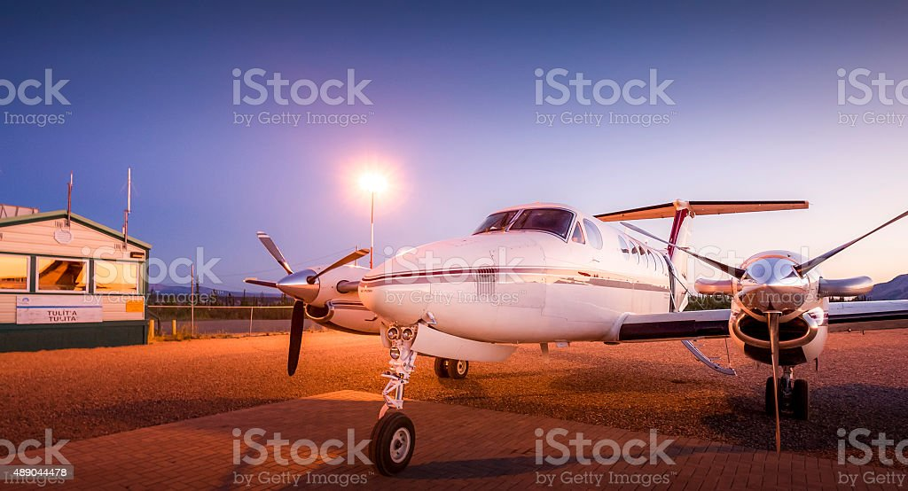 king air 200 stock photo