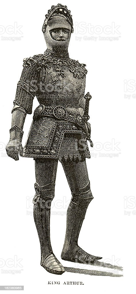 King Arthur´s Engrave stock photo