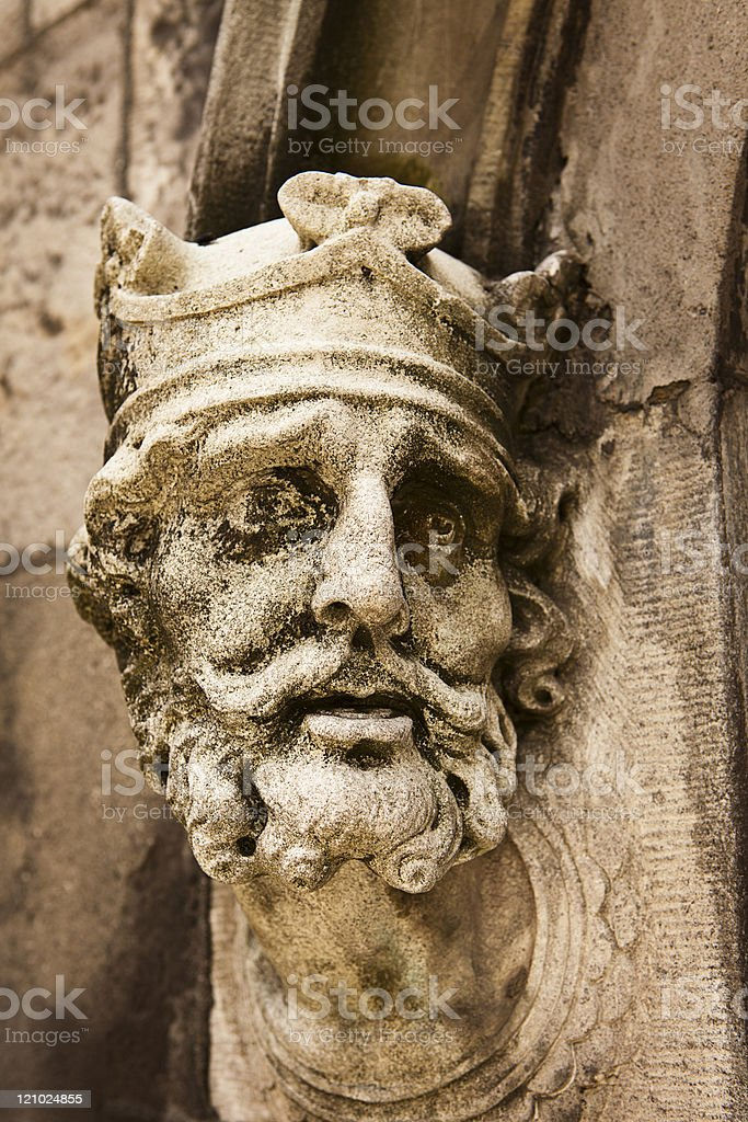 King Brian Boru royalty-free stock photo
