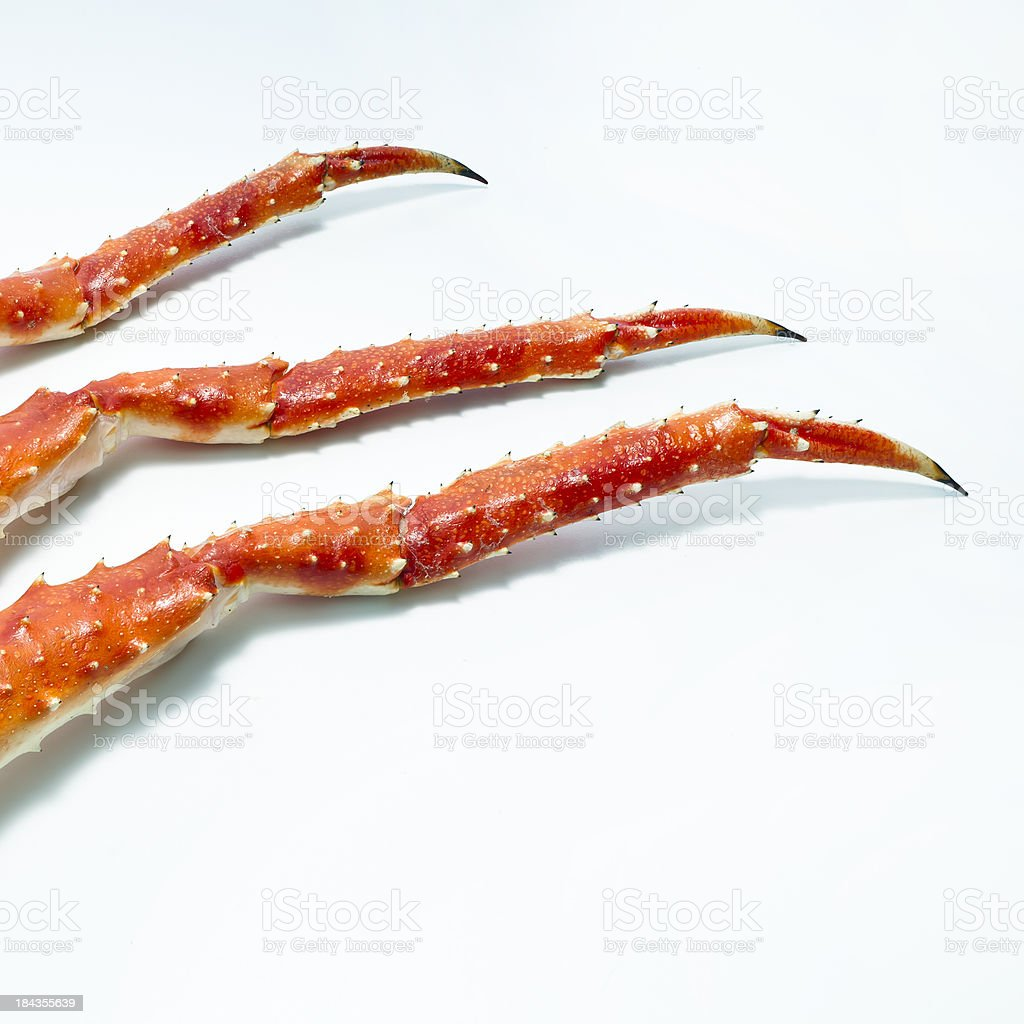 King Crab Legs stock photo