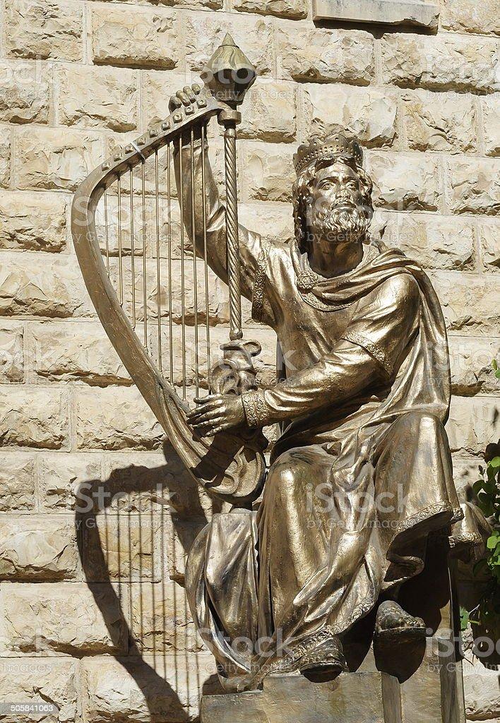 King David stock photo