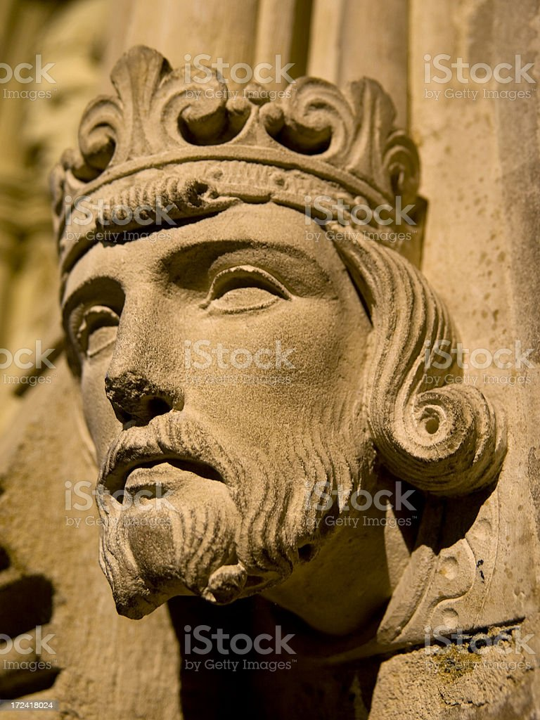King Ethelbert royalty-free stock photo