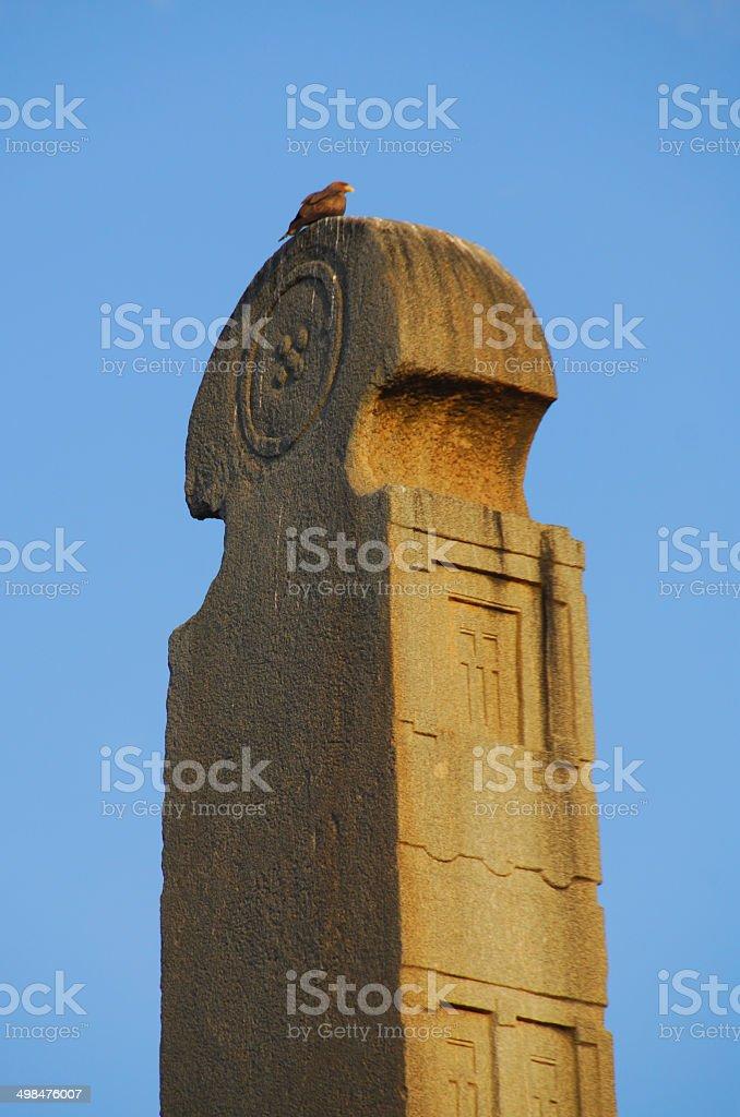 King Ezana's Stele, Axum, Ethiopia royalty-free stock photo