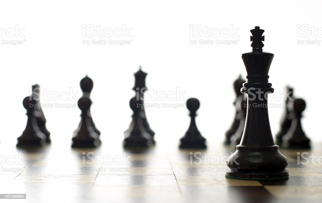 King forward stock photo
