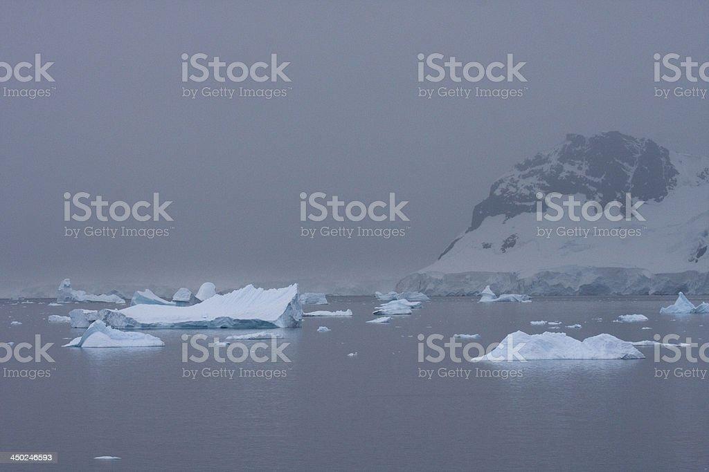 King George Island, Antarctica stock photo