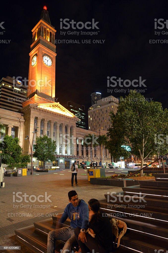 King George Square Brisbane - Queensland Australia stock photo