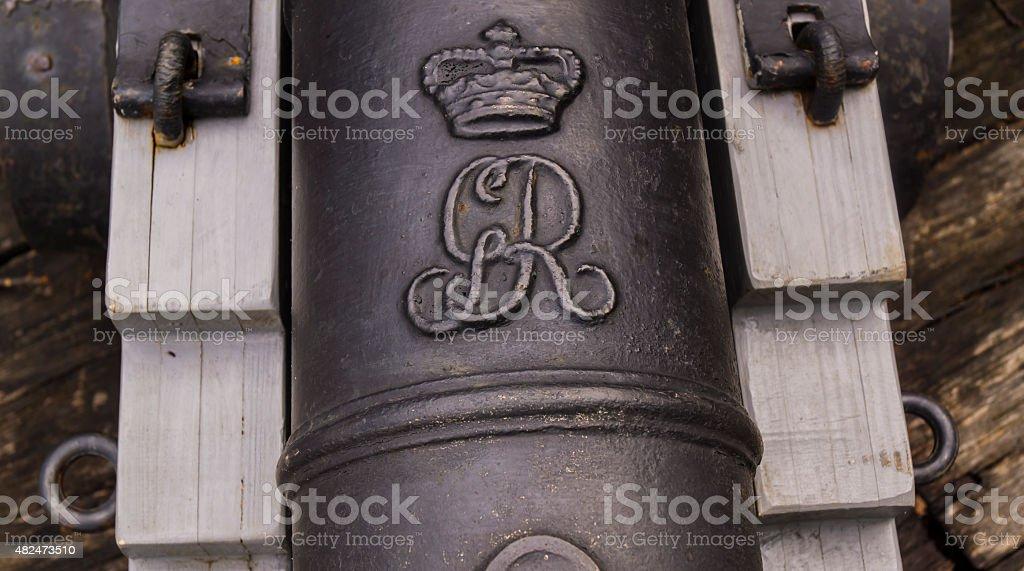 King George's Mark stock photo